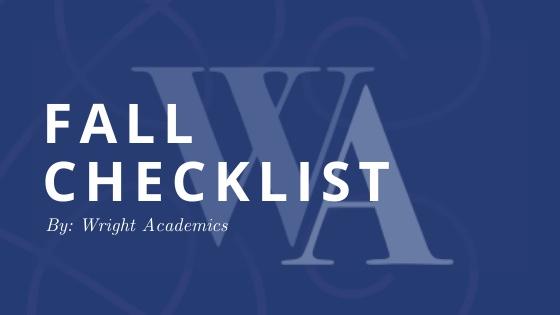 Fall Checklist: Top 7 Tips